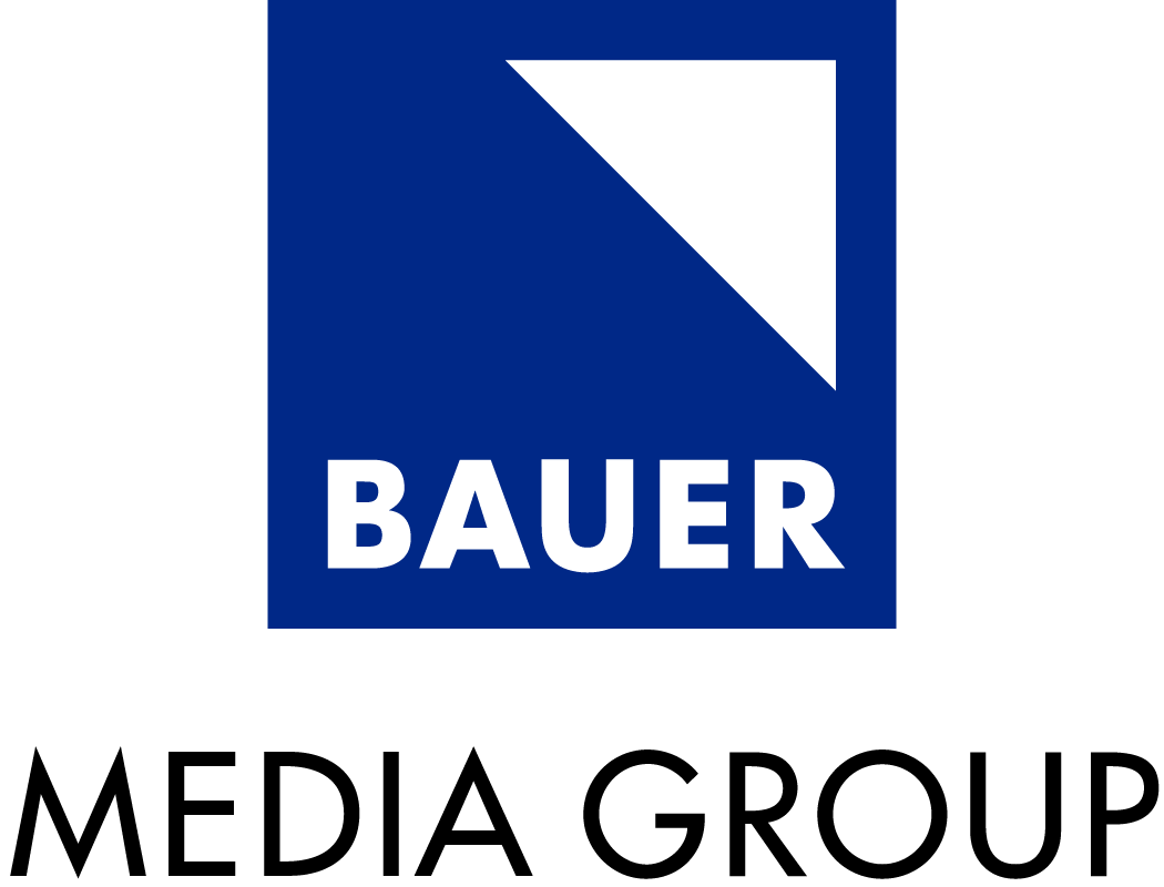 Bauer Media Group Blau-Schwarz PNG