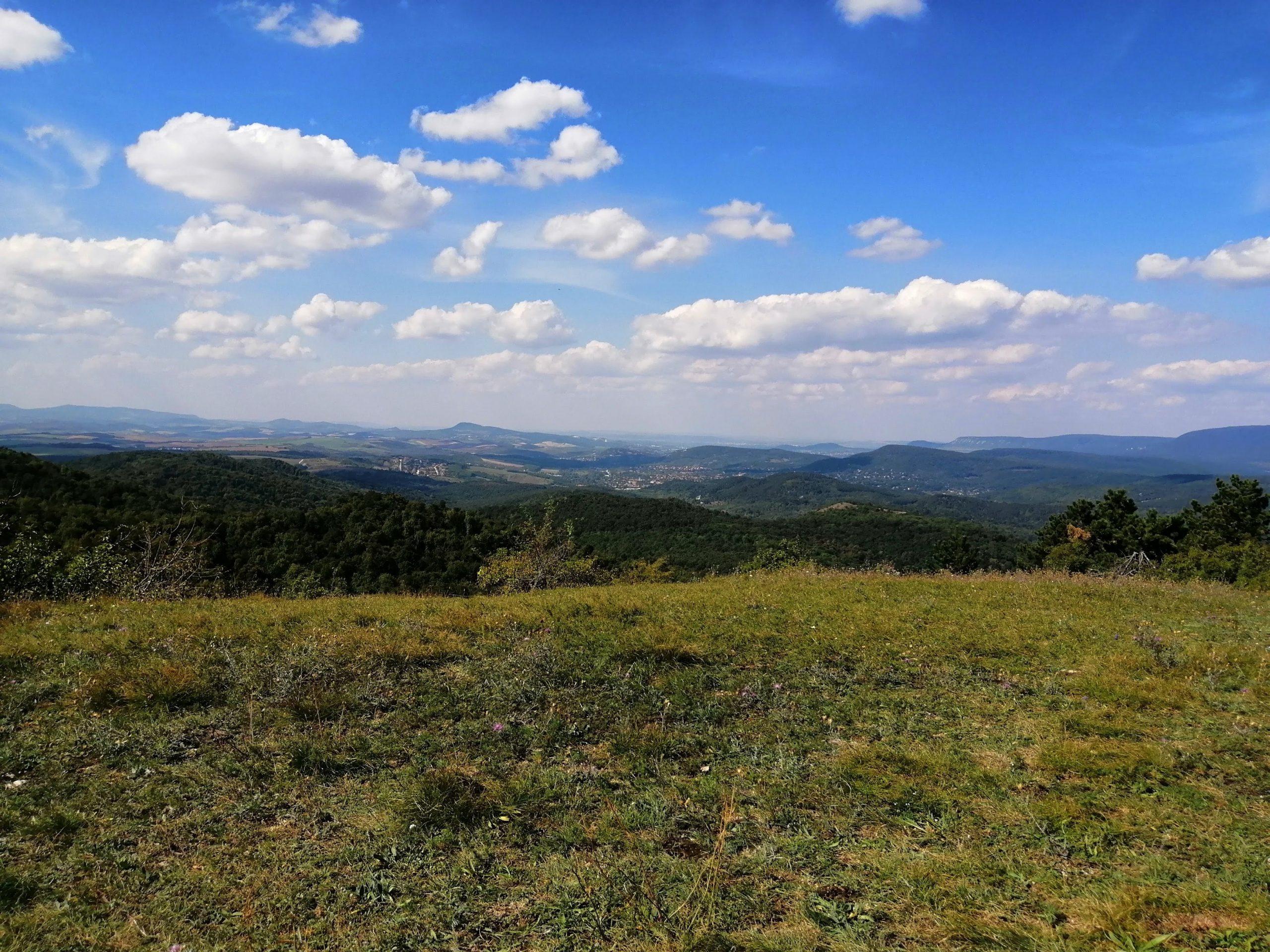 Blue Trail mountain view