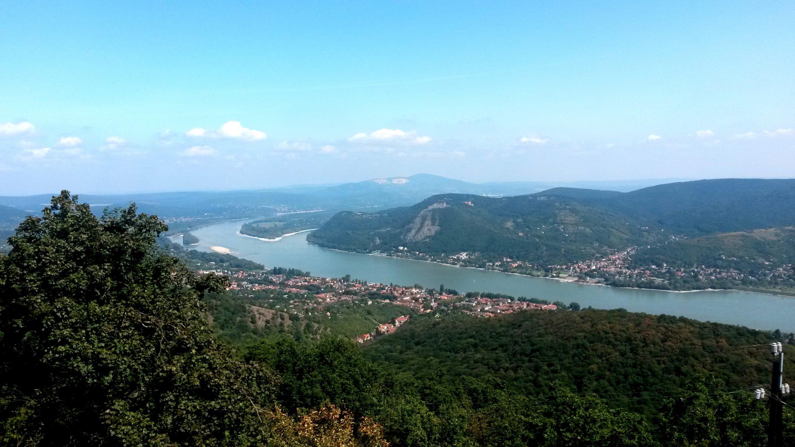 Danube Bend view
