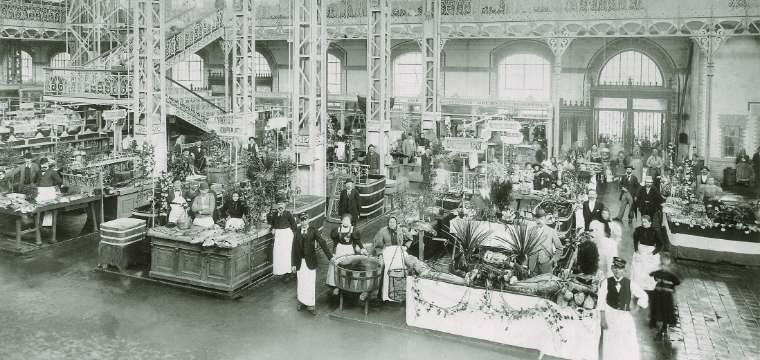 Great Market Hall in the old times