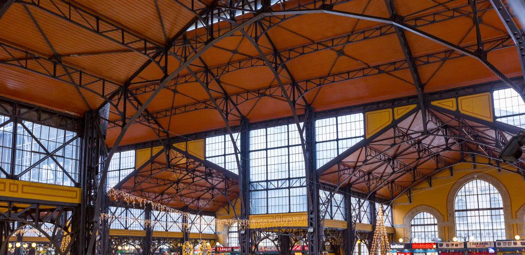 Great Market Hall roof structure