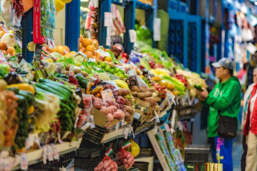 Great Market Hall vegatbles