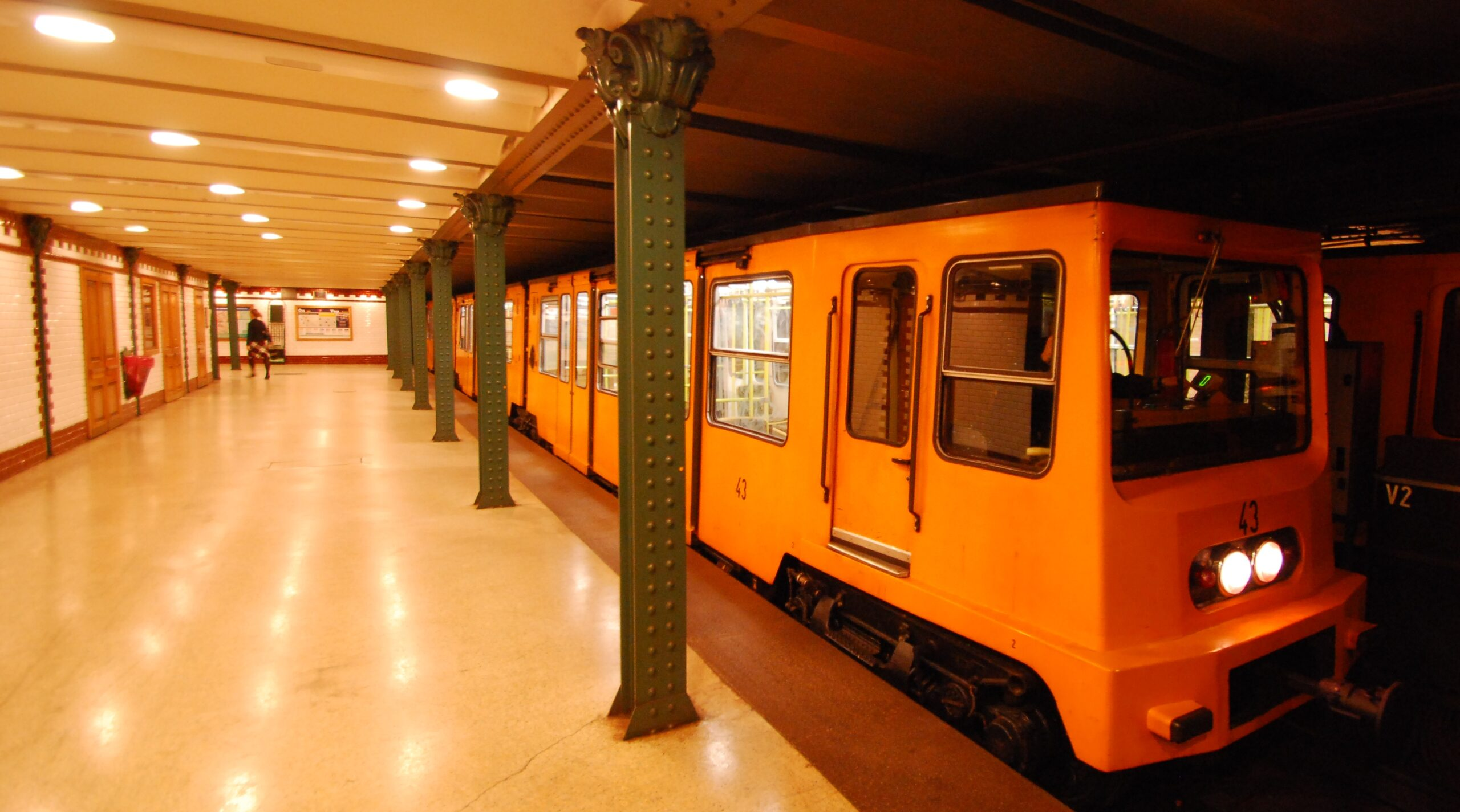 Metro line 1 Budapest