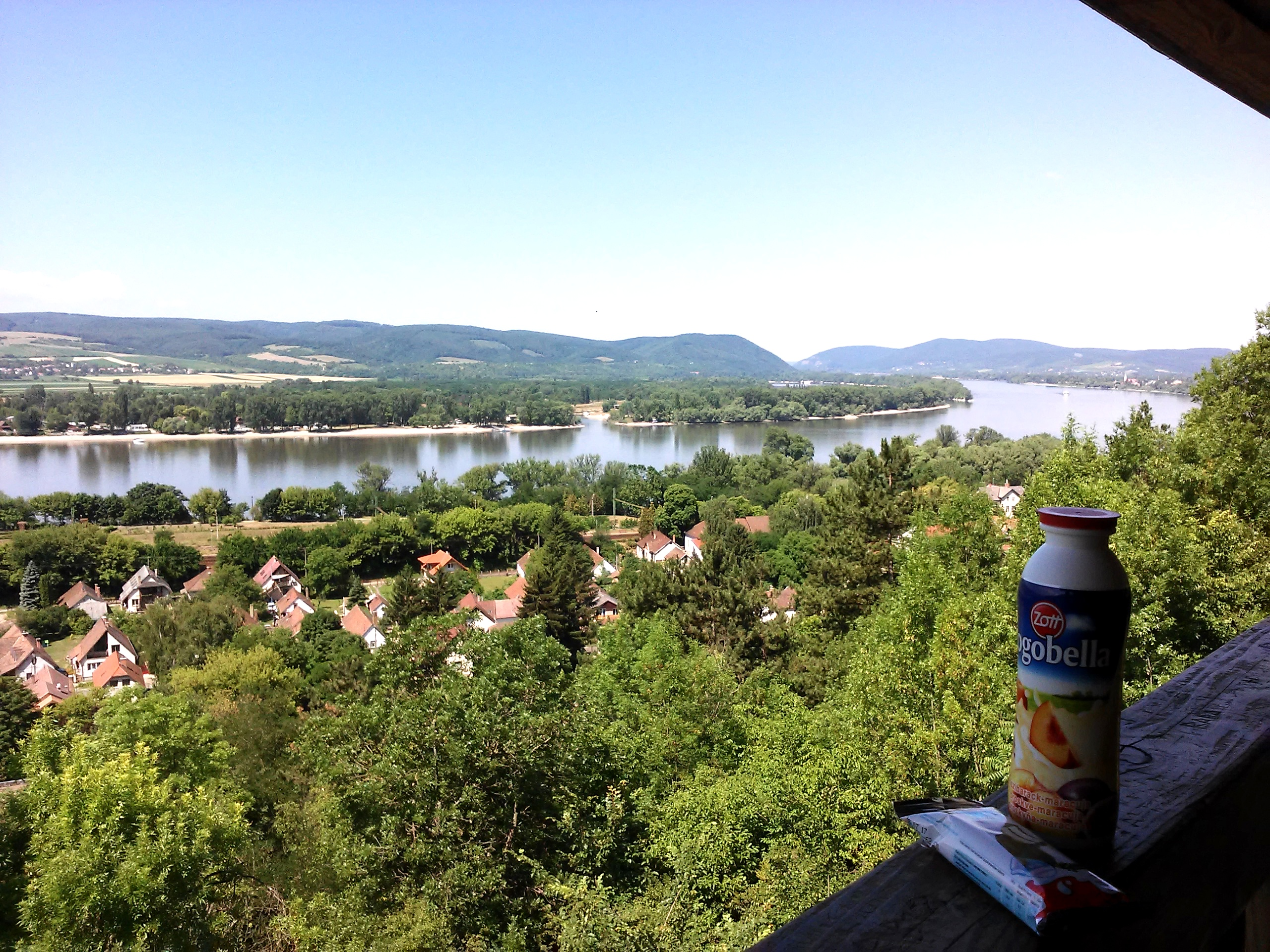 Snack with panorama