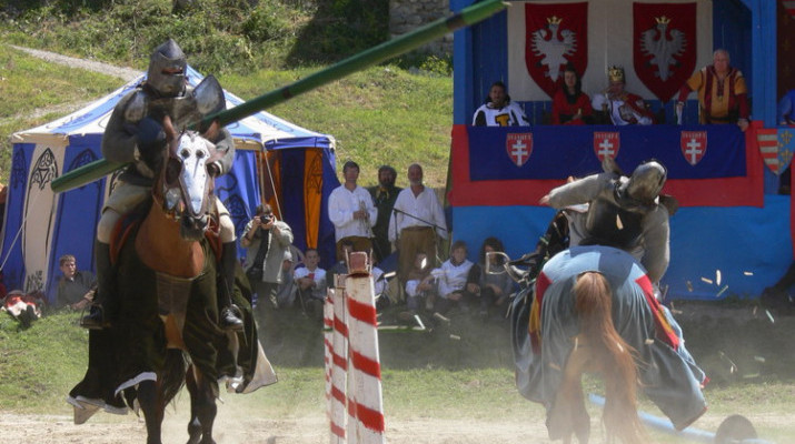 Visegrad knight tournament knights