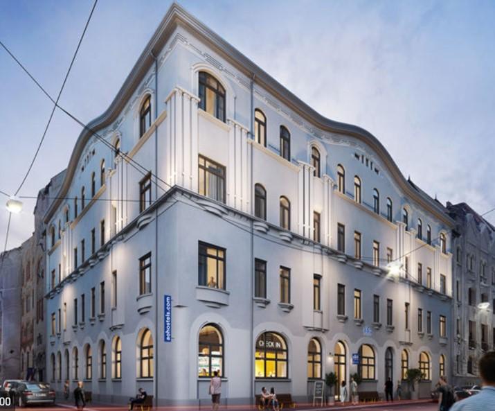 a&o Hotel Budapest City Exterior