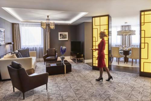 Suite No 730 in Kempinski Budapest Hotel